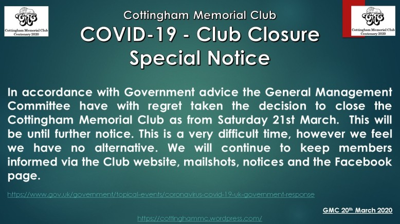 March-2020-Closed-COVID-19-message